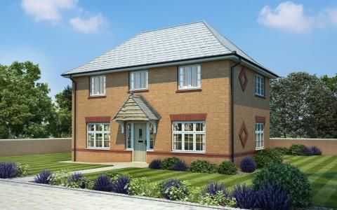 Thumbnail Detached house for sale in Maple Gardens, Offenham Road, Evesham, Worcestershire
