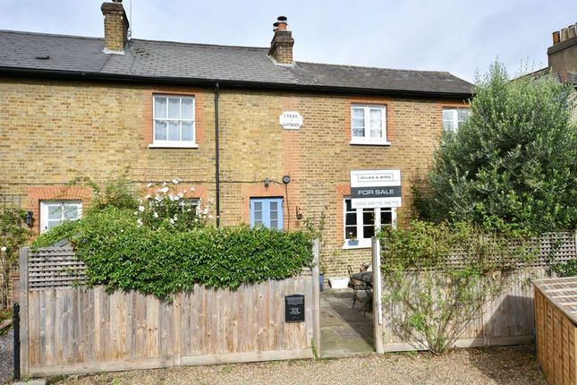 Thumbnail End terrace house for sale in Creek Cottages, Creek Road, East Molesey