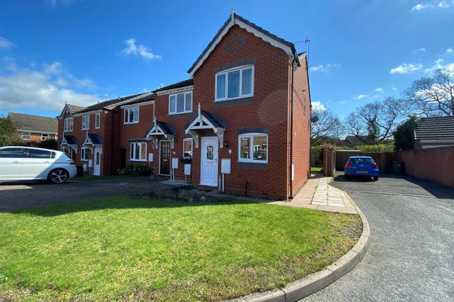 Thumbnail End terrace house to rent in Skenfrith Place, Warndon, Worcester