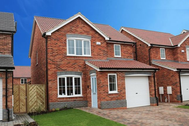 Thumbnail Detached house for sale in Plot 39, The Wordsworth, Hopfield, Hibaldstow, Brigg