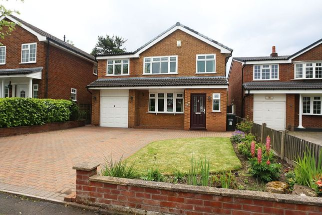 Thumbnail Detached house for sale in Gawsworth Close, Poynton, Stockport, Cheshire