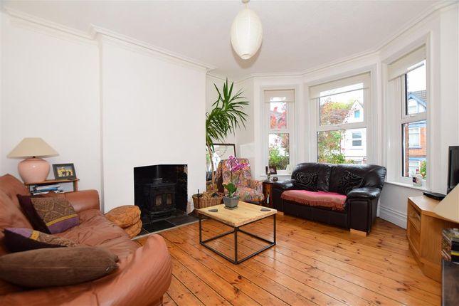 Thumbnail End terrace house for sale in Bradstone Avenue, Folkestone, Kent