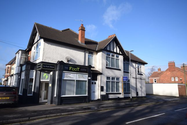 Thumbnail Flat for sale in Park Road, (x1 Commercial & X2 Flats), Coalville
