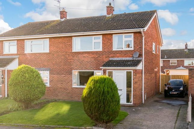 Thumbnail Semi-detached house for sale in Westbury Road, Shrewsbury