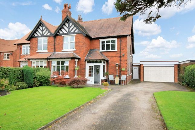 Thumbnail Semi-detached house for sale in Caverswall Road, Blythe Bridge, Stoke-On-Trent