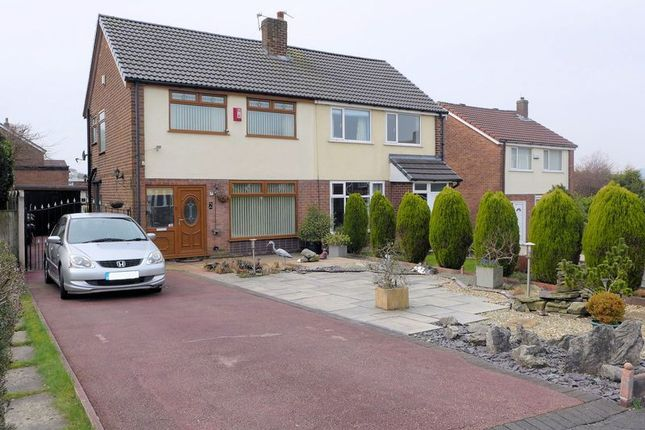 Thumbnail Semi-detached house for sale in Spring Gardens, Harwood, Bolton