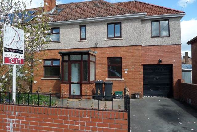Thumbnail Semi-detached house to rent in Lockleaze Road, Horfield, Bristol