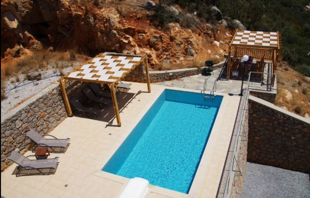 Villa Jasmine Outside Terrace & Pool