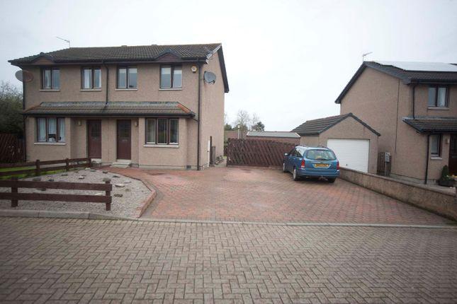 Thumbnail Semi-detached house for sale in Belhaven Road, Pitmedden, Ellon