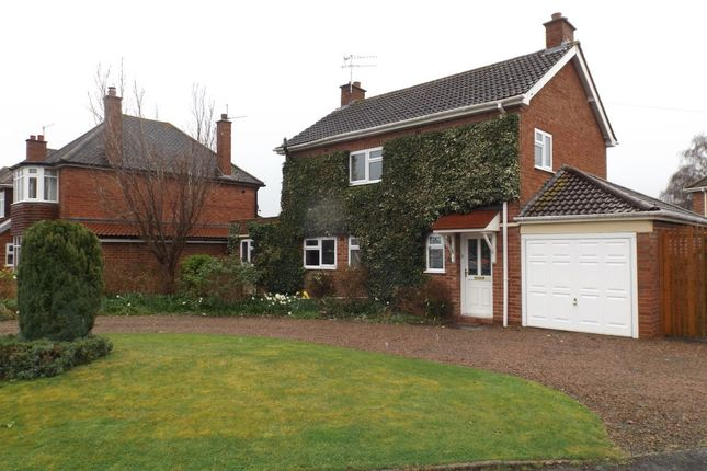Thumbnail Detached house to rent in Christine Avenue, Rushwick, Worcester