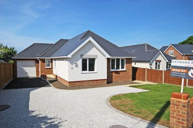 Detached bungalow for sale in Lavender Road, Hordle, Lymington