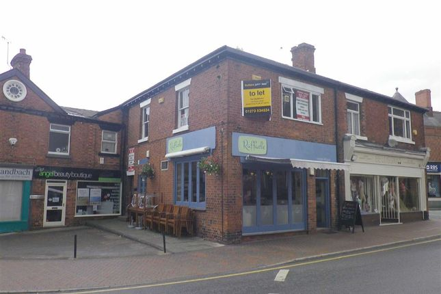Thumbnail Retail premises to let in Hightown, Sandbach, Cheshire