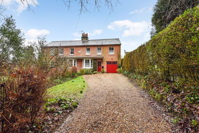 Thumbnail Semi-detached house for sale in Wellhouse Road, Beech, Hampshire