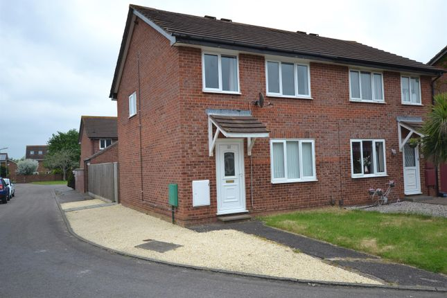 Thumbnail End terrace house to rent in Cliff Bastin Close, Broadfields, Exeter