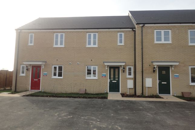 Thumbnail Terraced house to rent in Stour Close, Spalding