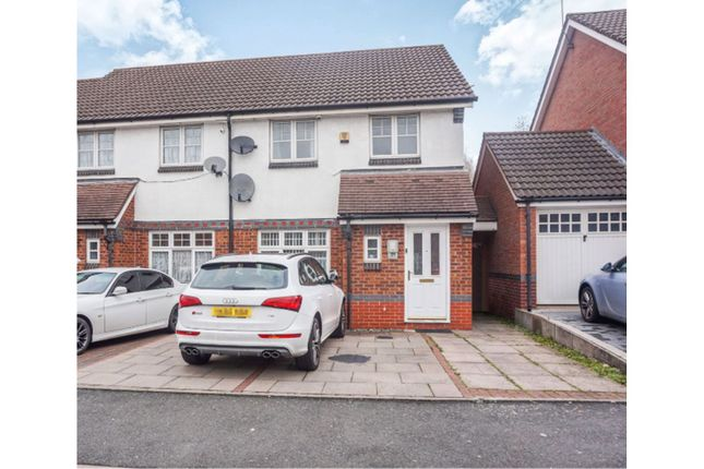 Thumbnail Semi-detached house for sale in Doulton Drive, Smethwick