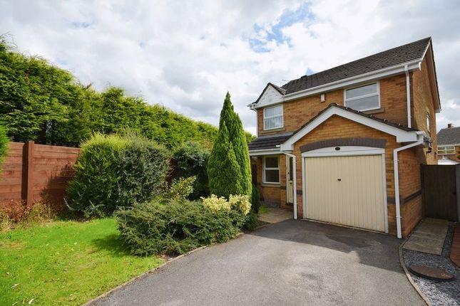 Thumbnail Detached house for sale in Oak Mount Road, Werrington, Stoke-On-Trent