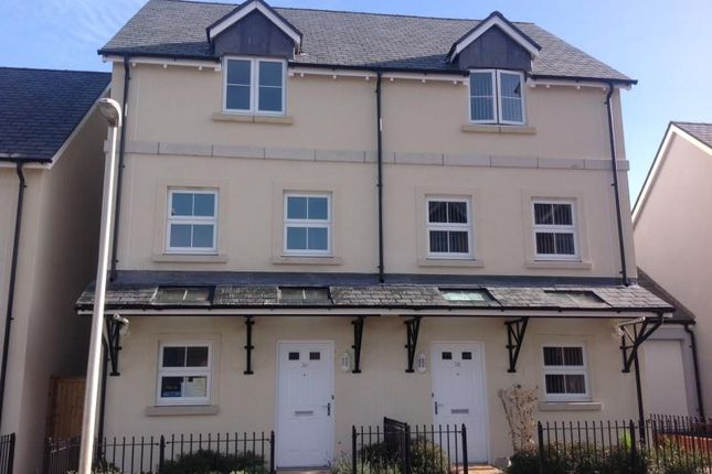 Thumbnail Semi-detached house to rent in 30 Carhaix Way, Dawlish, Devon