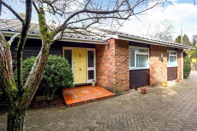 Thumbnail Detached bungalow for sale in Church Road, Bramshott, Liphook, Hampshire
