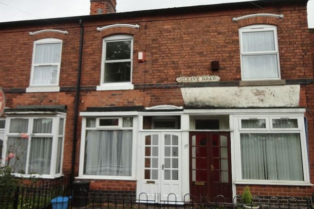 Thumbnail Terraced house to rent in Gleave Road, Selly Oak, Birmingham