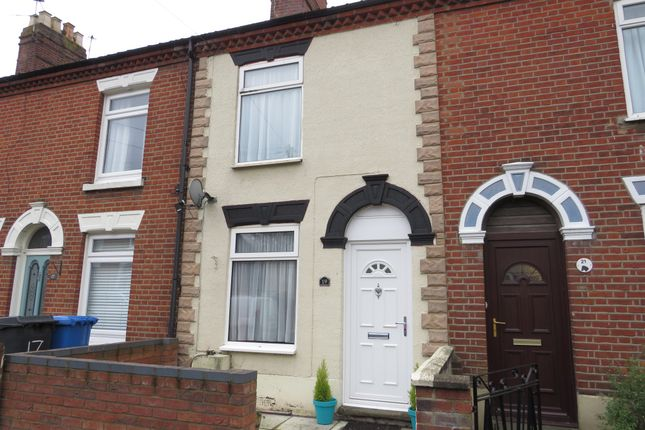 Thumbnail Terraced house for sale in Norman Road, Norwich