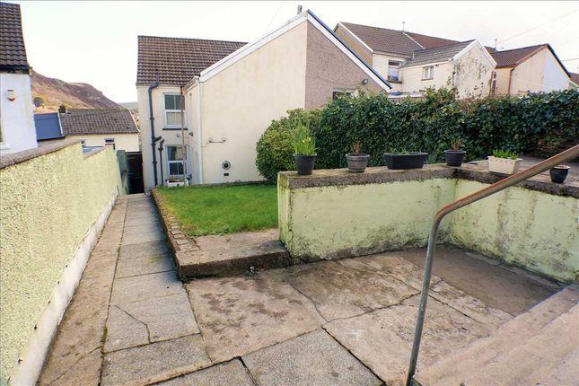 Exterior (Rear) of Church Terrace, Penrhiwfer, Tonypandy CF40