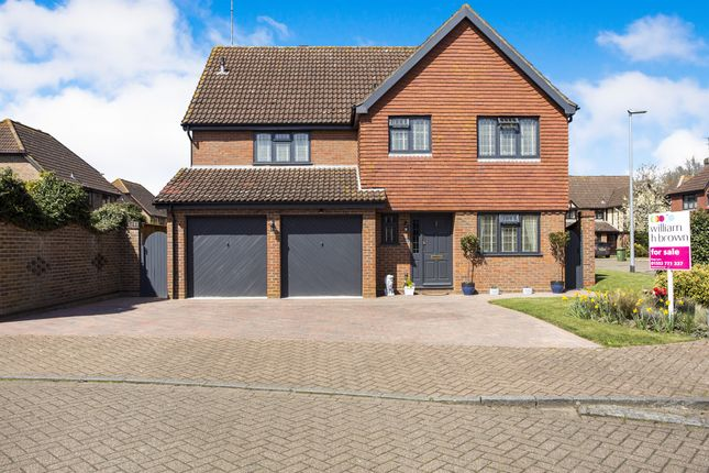 Thumbnail Detached house for sale in Old Kiln, West Winch, King's Lynn