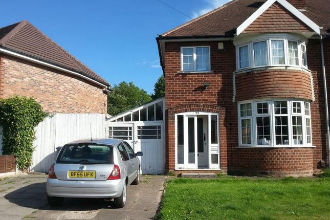 Thumbnail Semi-detached house to rent in Delves Crescent, Walsall