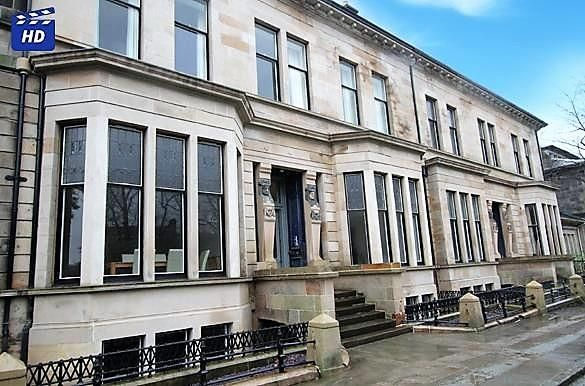 Thumbnail Flat to rent in Lancaster Terrace, Glasgow