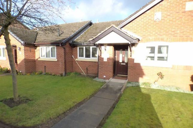 Thumbnail Terraced Bungalow For Sale In Brookmere Close Elworth Sandbach
