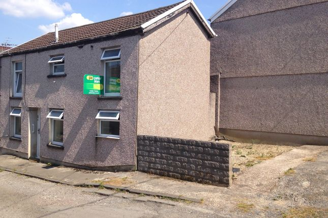 Thumbnail End terrace house for sale in Bell Street, Trecynon, Aberdare