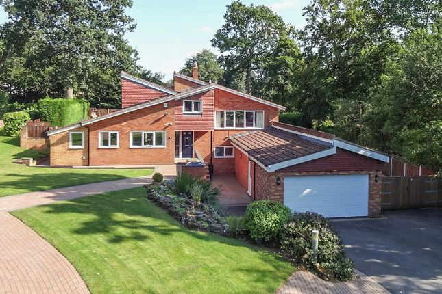 Thumbnail Detached house for sale in Plymouth Drive, Barnt Green
