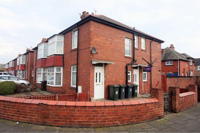 Thumbnail flat for sale in marondale avenue, walkerdene, newcastle upon tyne