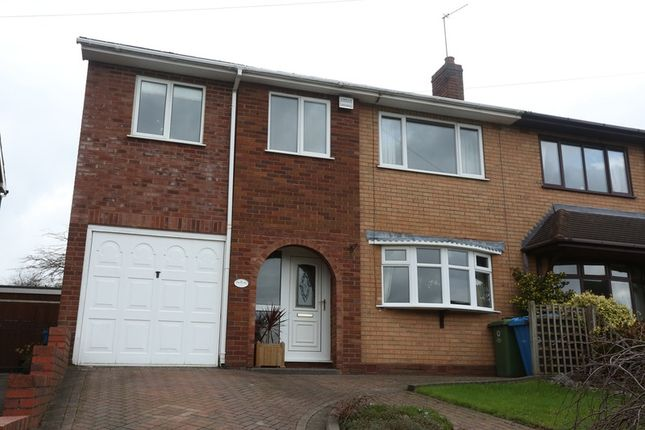 4 bed semi-detached house for sale in Leveson Avenue, Walsall, West Midlands