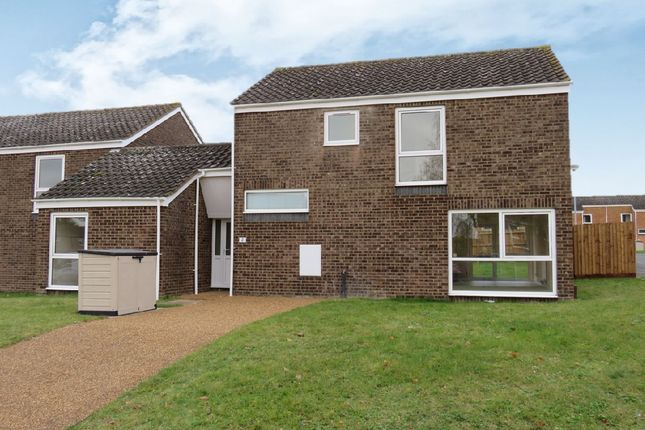 Thumbnail End terrace house for sale in Maple Close, Raf Lakenheath, Brandon