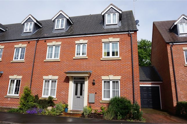 Thumbnail Semi-detached house for sale in Brittain Lane, Warwick