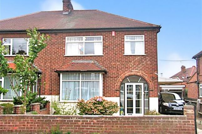 Thumbnail Semi-detached house to rent in Crofton Road, Attenborough