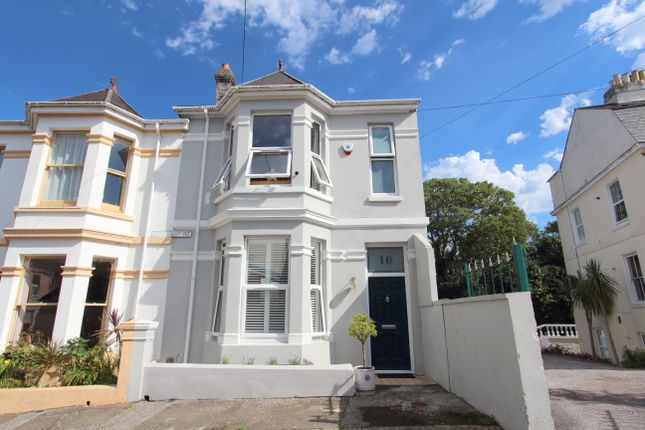 Thumbnail End terrace house for sale in Hermitage Road, Mannamead, Plymouth, Devon