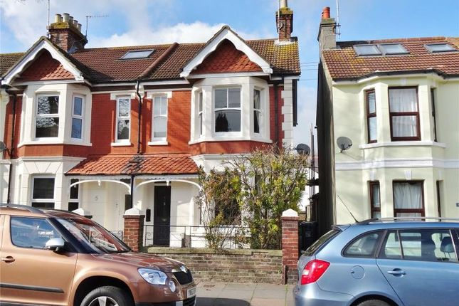 Thumbnail End terrace house for sale in Southfield Road, Broadwater, Worthing