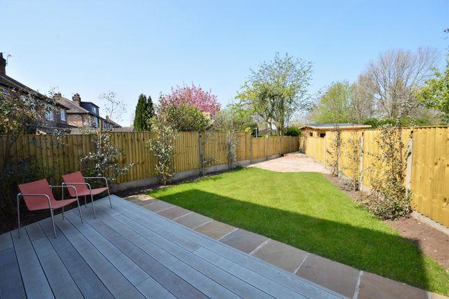 Garden of Burnside Avenue, Stockton Heath, Warrington WA4