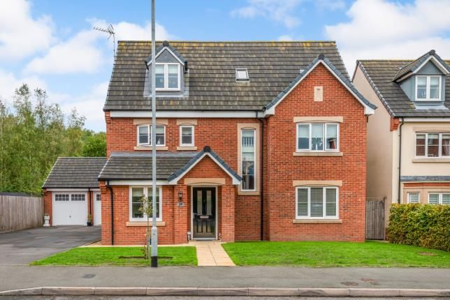 Thumbnail Detached house for sale in Lupin Drive, Huntington, Cannock, Staffordshire