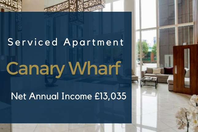 Flat for sale in Canary Wharf, London