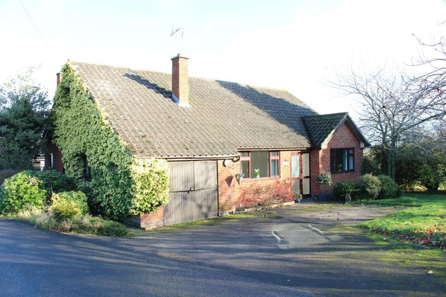 Thumbnail Detached bungalow for sale in Stoney Stanton, Leicestershire