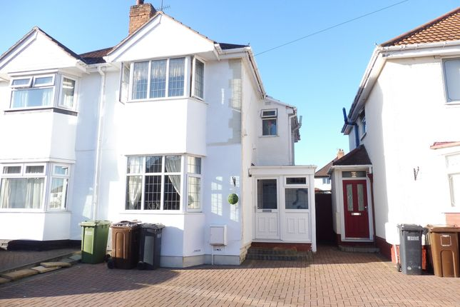 Thumbnail Semi-detached house for sale in Howard Road, Solihull