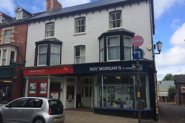 Thumbnail Retail premises to let in Carlton House, Middleton Street, Llandrindod Wells, Powys