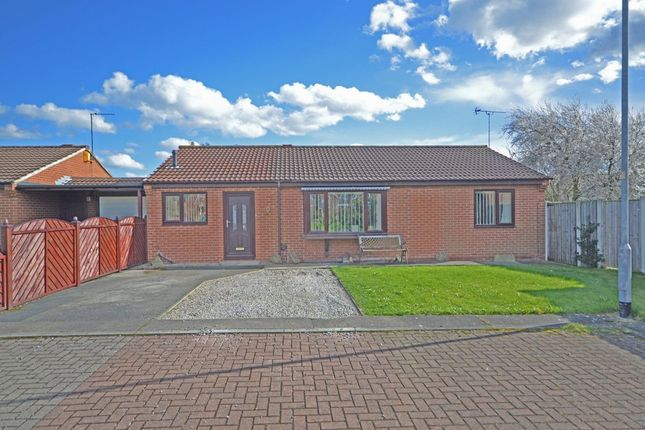Thumbnail Detached bungalow for sale in Brookfield Court, Normanton