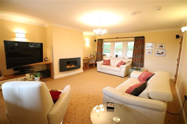 Living Room of 14 Scotby Village, Scotby, Carlisle, Cumbria CA4