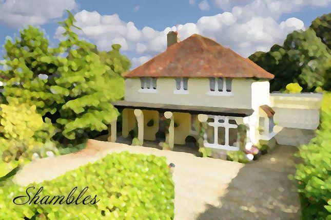 Thumbnail Detached house for sale in Longdown Lane South, Epsom