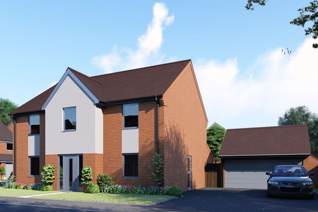 Thumbnail Detached house for sale in Doddington Road, Earls Barton, Northampton