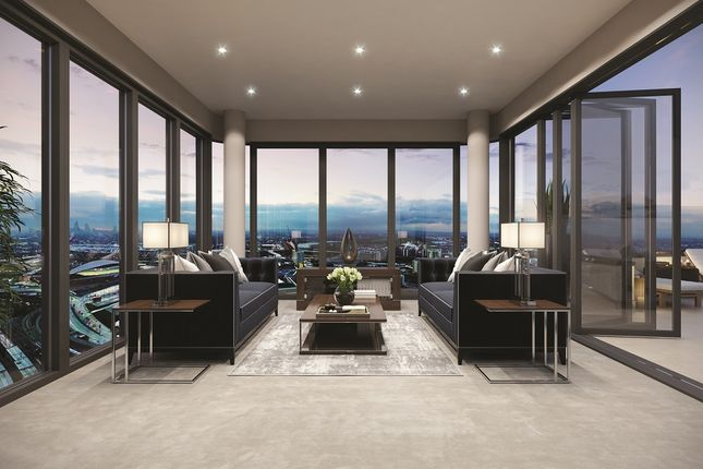 Thumbnail Flat for sale in Stratford Central House, High Street, London